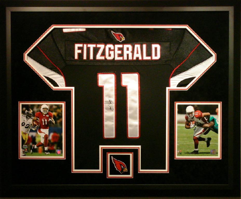Jersey Framing AZ | Custom Sports Jersey Framing in Arizona